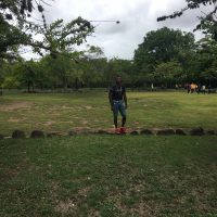 At The Ancestral Batey courts in Puerto Rico at Caguana