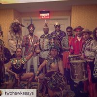 Tapia and FANA Chiefs in providence with indigenous community members